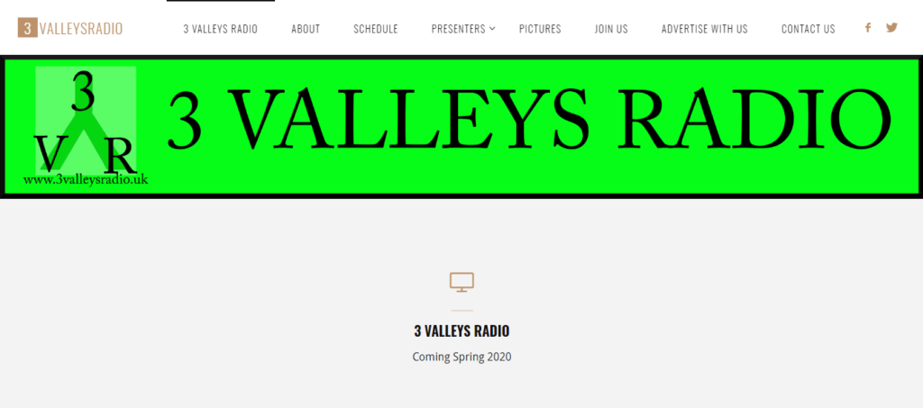 Stuff i've done 3 Valleys Radio New radio station coming to Calderdale soon. (Still under construction) by calderdale websites Karl Burrill