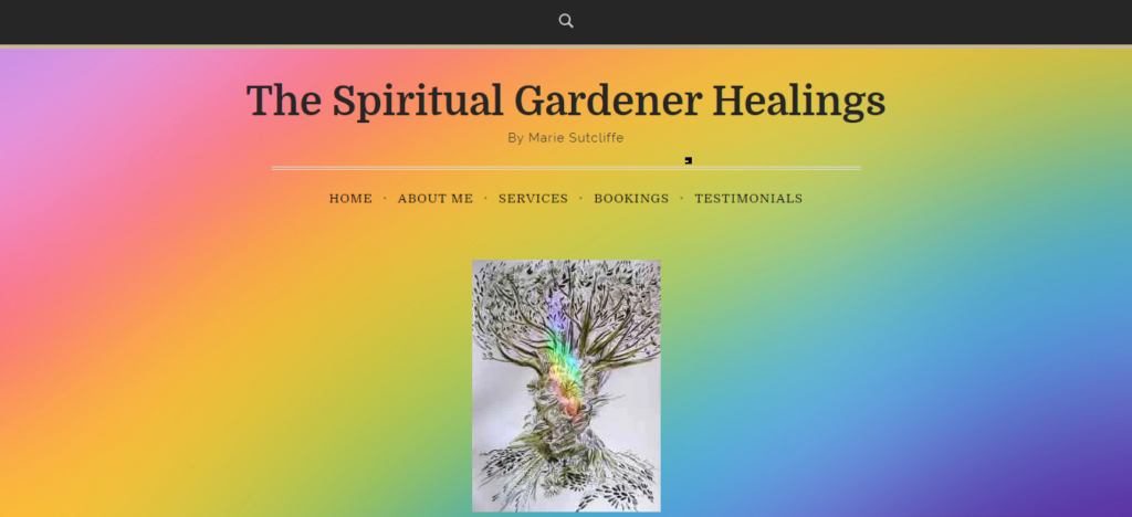 Stuff i've done The spiritual Gardener healings by calderdale websites Karl Burrill